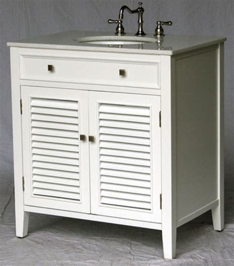 shutter door bathroom vanity 32 inch bathroom vanity louvered shutter doors style white