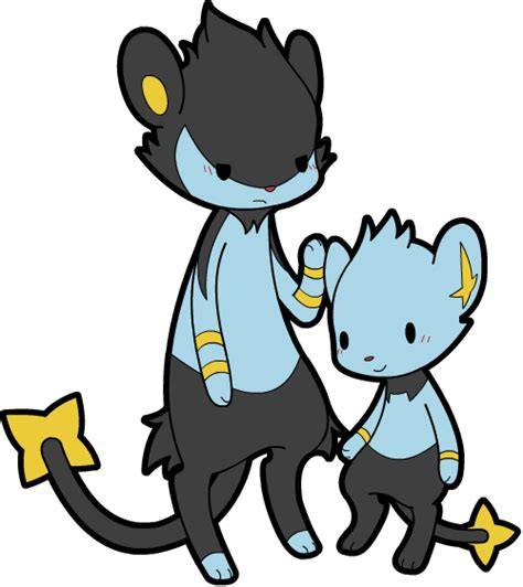 Hd Luxio Top luxio and shinx by swanlullaby on deviantart