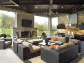 Houzz Outdoor Patios by Contemporary Outdoor Kitchen Entertainment Area