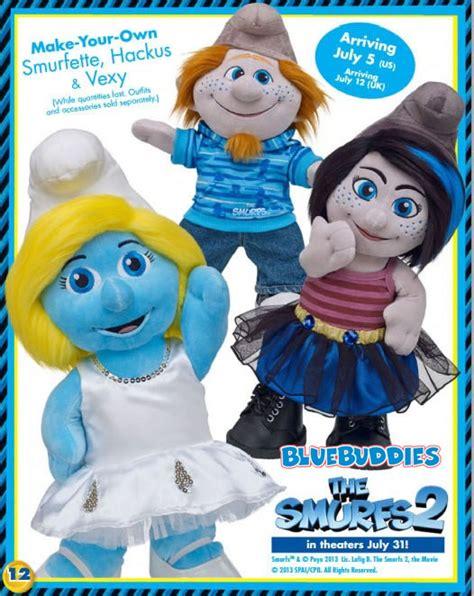 new plush toys for smurfs 2 movie