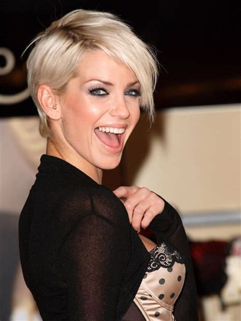 google images celebs with pixie cuts most wanted rock chick hair sarah harding hair sarah