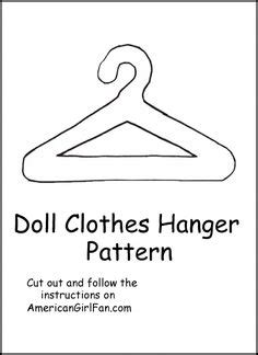 pattern for doll clothes hangers result image to printable free ken doll clothes patterns