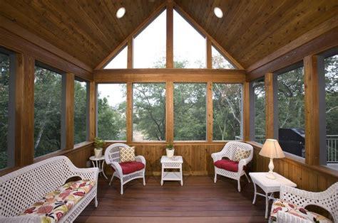 Inside Porch Doors Interior Design Exciting 3 Season Porch With Floorboard