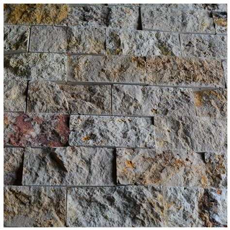 brick pattern mosaic tile natural stone scabos travertine 2x4 brick pattern split