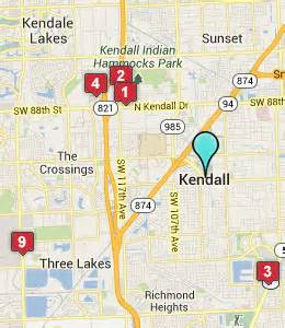 where is kendall florida on a map kendall fl hotels motels see all discounts