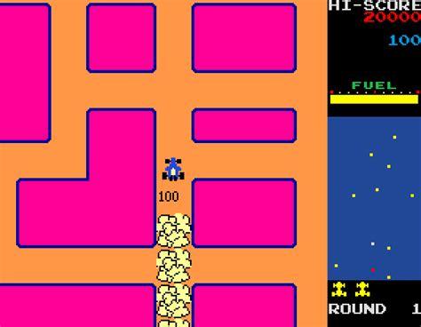 Juegos De Auto Rally X new rally x 1981 arcade game