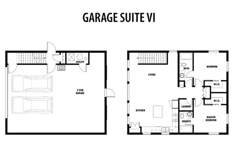 in suite garage floor plan secondary suite floor plan suite home plans ideas picture