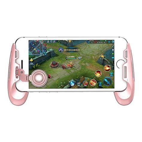 Gamesir F1 Joystick Controller Grip For Moba For Smartphone Biru gamesir f1 joystick grip pink