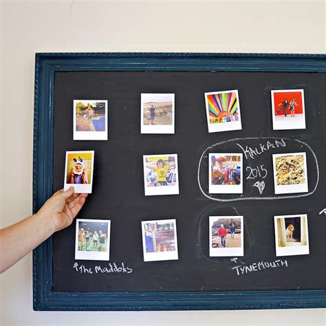 photo frame wall display photo frame chalkboard wall display pillar box blue