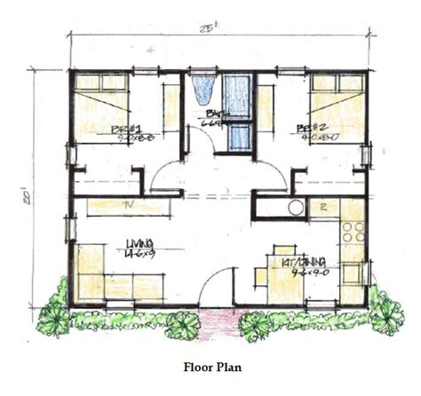 500 sq meters two bedroom 500 sq ft house plans google search my