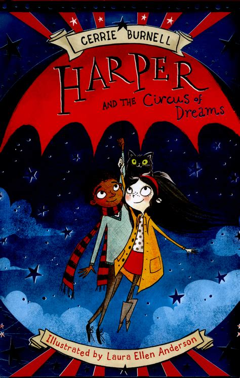 harper and the circus harper and the circus of dreams by burnell cerrie 9781407157405 brownsbfs