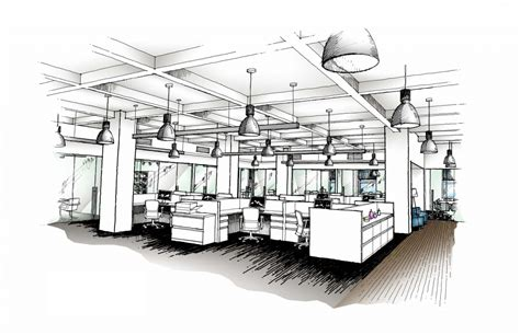 Sketch Interior Design Interior Design Office Sketches Interior Design