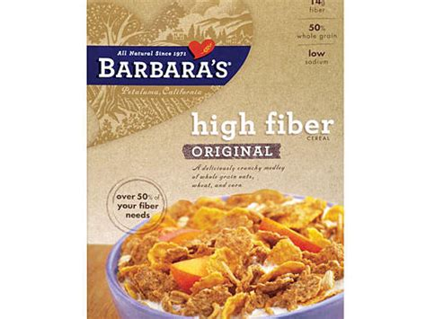 B W Hi Fibre Cereal by Choose The Best Healthy Cereals Cooking Light