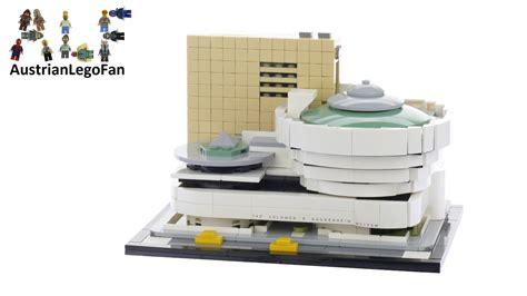 Lego Architecture Solomon R Guggenheim Museum 21035 lego architecture 21035 solomon r guggenheim museum