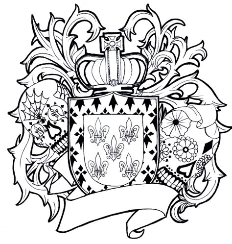 family crest tattoo designs gallery by cherry amorphoto