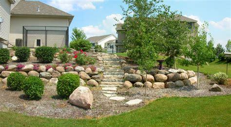 Landscape Rock St Paul Mn Retaining Wall Minneapolis Landscaping Minnesota