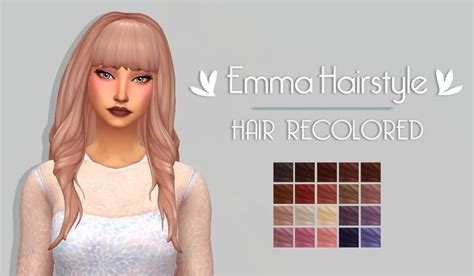 sims 3 cc hair colours 498 best images about sims 4 hair on pinterest