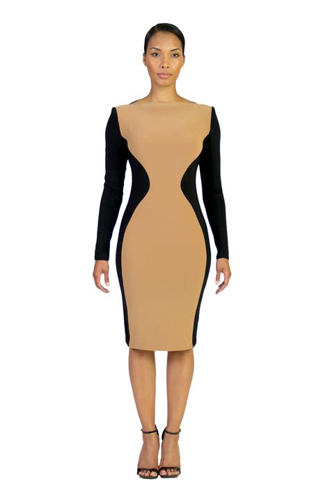 color block dresses sleeve curved color block dress as seen on