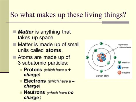 what makes up matter the chemistry of unit iii ppt