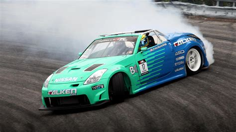 nissan drift nissan 350z drift wallpaper