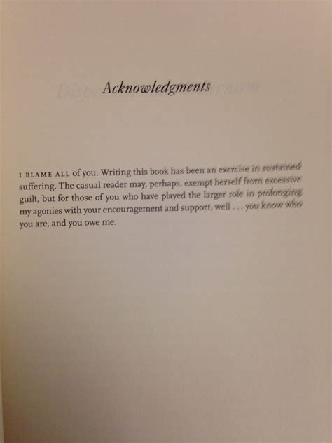 cool thesis acknowledgement the best or at least the most honest acknowledgements