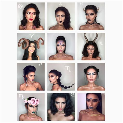 12 makeup looks for each zodiac sign which one is the zodiac sign makeup mugeek vidalondon