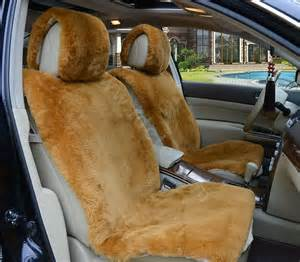 Seat Covers For Cars Sheepskin Buy Wholesale Universal Synthetic Sheepskin Car Seat Cover