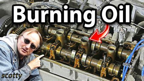 fix  car engine  burns oil   bucks youtube