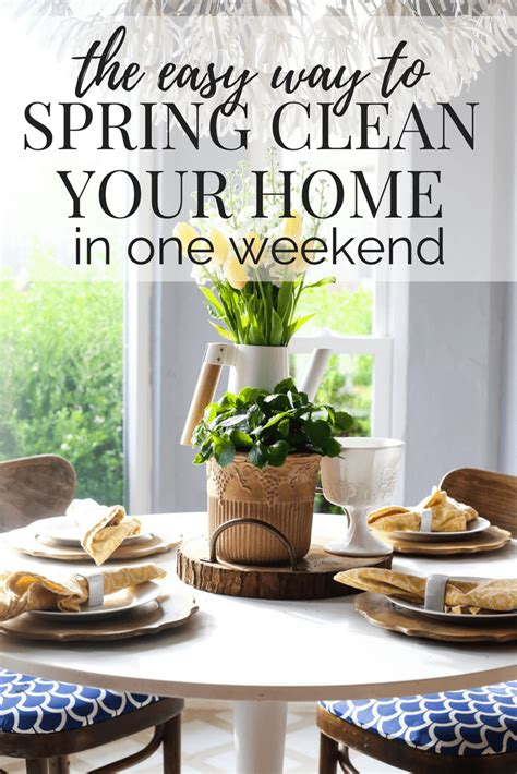 how to spring clean your house in a day how to spring clean in a weekend love renovations
