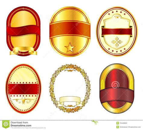 label designs templates label templates set 1 stock vector image of blank ribbon