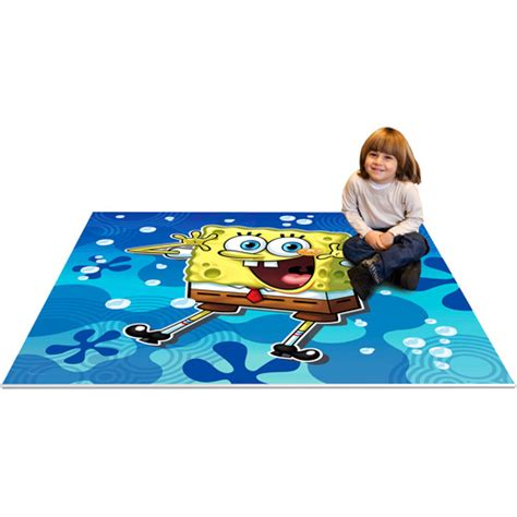 Spongebob Rug by Nickelodeon Spongebob Soft Play Mat Walmart