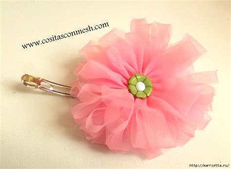 organza roses tutorial organza flowers tutorial d i y fabric flowers