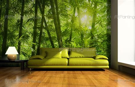 wall murals posters wall murals tropical canvas prints posters bamboo