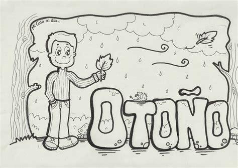 imagenes de otoño y invierno esos locos bajitos de infantil dibujos de oto 209 o para colorear