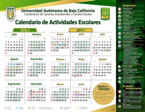 calendario uabc 2016 1 calendario escolar 2017 1 escuela de ciencias de la salud