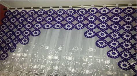cortinas tejidas cortina tejidas a crochet en variado modelos