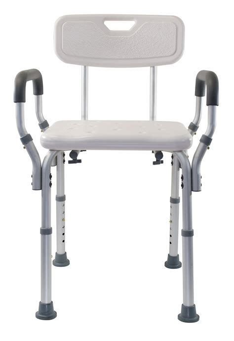 medical supplies shower bench deluxe shower bench with arms essential medical supply