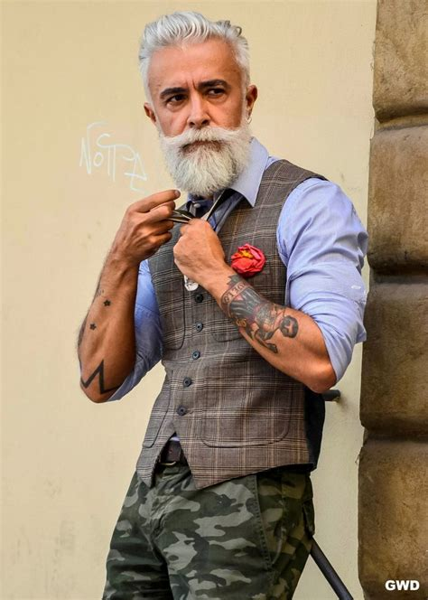 beards for mature men on pinterest beards silver foxes urban street style gray hair and beard men s spring