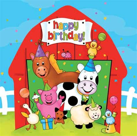 Toy Barn And Farm Animals Barnyard Animals Party Napkins In Packs Of 16 Party Wizard