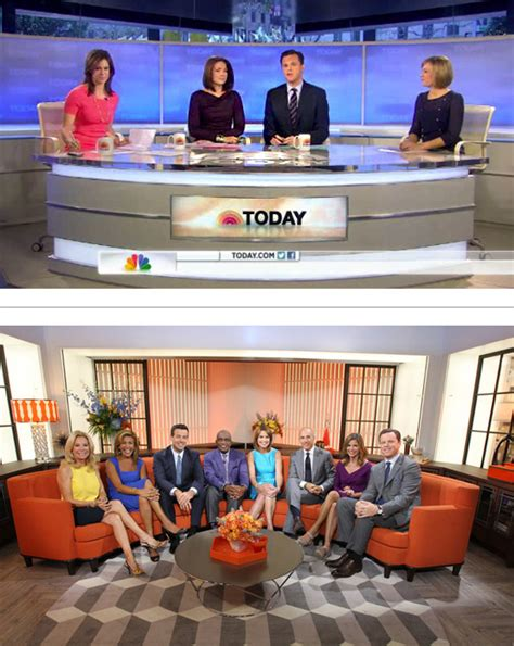 today show set brand new new logo and animation for today show by