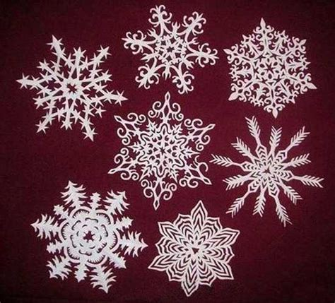 Make Paper Design - paper snowflakes and garlands charming handmade