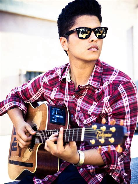 who is the singer playing guitar in the direct tv commercial may 2016 bruno mars playing guitar singer music print poster 24 quot x32