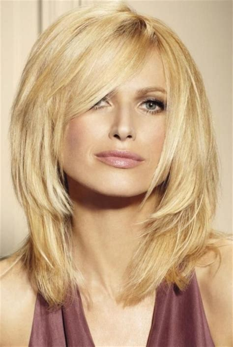square cut hairstyle layered haircut for oval oblong square diamond round