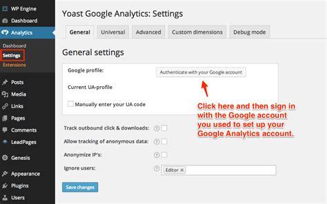 tutorial google analytics wordpress google analytics wordpress the easiest set up of your