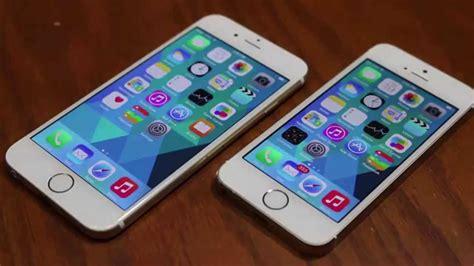 iphone 6 vs iphone 5s comparison
