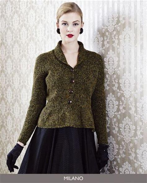 peplum knitting patterns pattern 8 peplum jacket from debbie bliss knitting