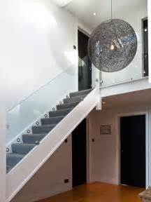 glass banister staircase glass banister houzz