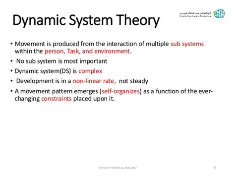 pattern theory by exle exle of dynamic systems theory of motor development