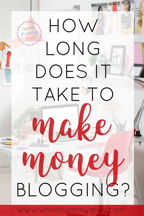 how much money does it take to buy a house how long does it take to make money blogging what mommy does