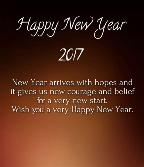 happy new year 2017 i love you quotes images happy new